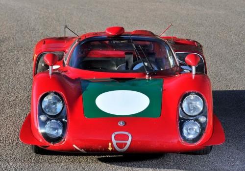Alfa Romeo Tipo 33/2 -  Le Mans Coda Lunga