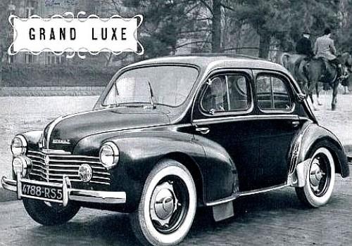 Renault 4 CV -  Grand Luxe