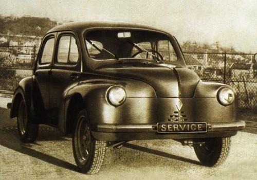 Renault 4 CV -  Service