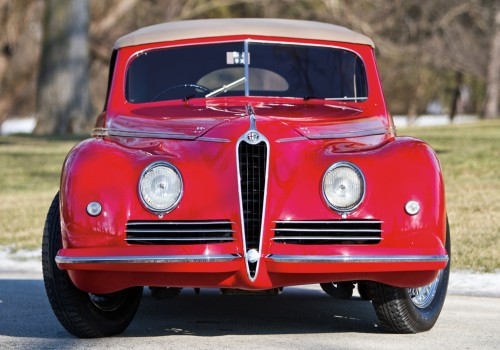 Alfa Romeo 6C 2500 -  Sport Touring Cabriolet