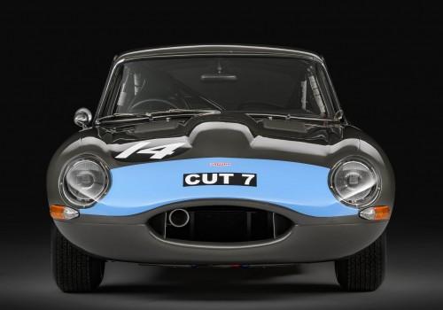 Jaguar Type E -  Semi Lightweight Fixed Head Coupe