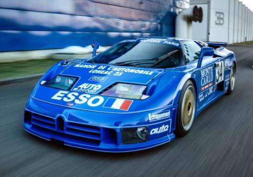 Bugatti EB110 -  SS LM (Le Mans)