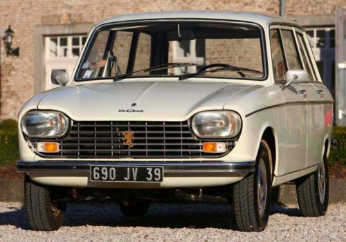 Peugeot 204 -  Break (Série 2)