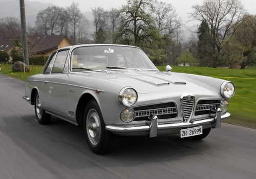 Alfa Romeo 2000 (102) -  Vignale Coupe
