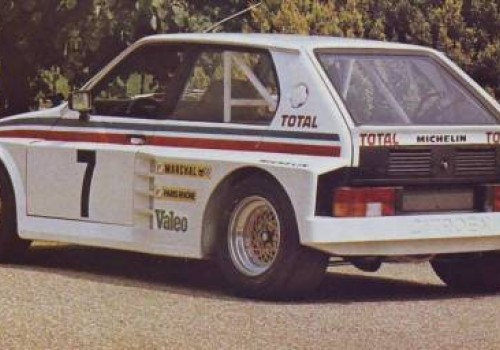 Citroën Visa -  Lotus Group B Prototype