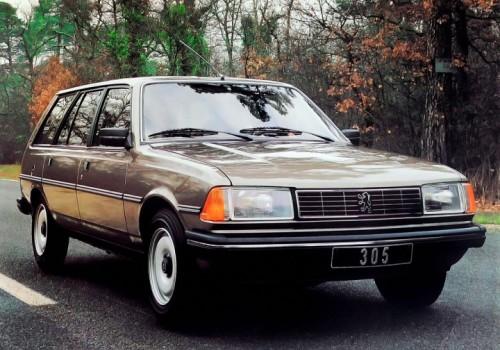 Peugeot 305 II (581M) -  Break (581E) 1.5 2e Série