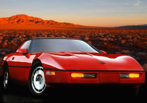 Chevrolet Corvette C4 -  1YY Coupe (1986)
