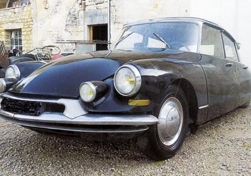 Citroën DS -  19 Prestige (avec séparation)