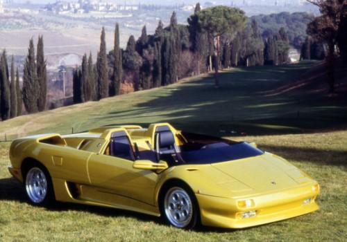 Lamborghini Diablo -  Roadster Concept