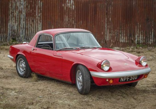 Lotus Elan -  Series 3 Fixed Head Coupe