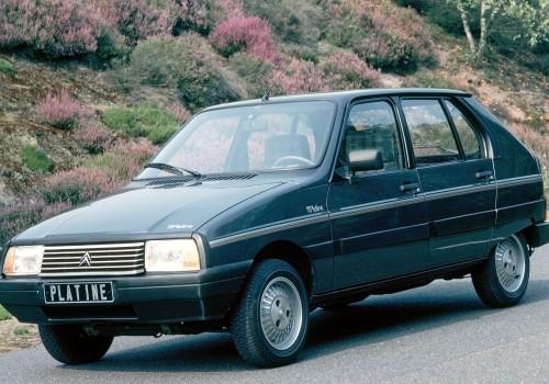 Citroën Visa -  Platine