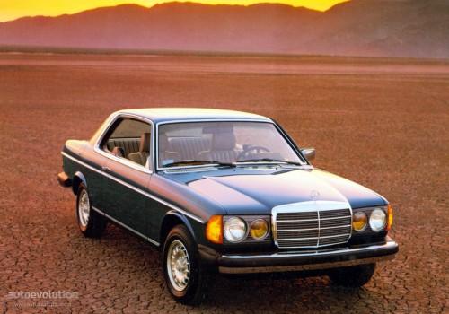 Mercedes-Benz W123 -  Coupe (C123) 230 CE