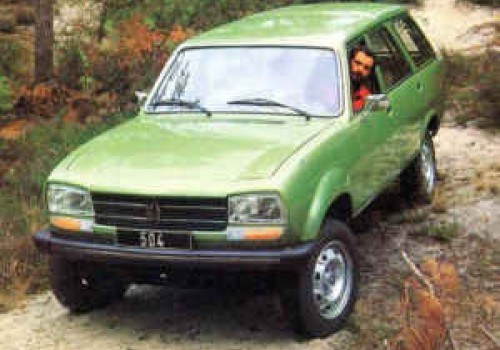 Peugeot 504 -  Break 4×4 Dangel Diesel