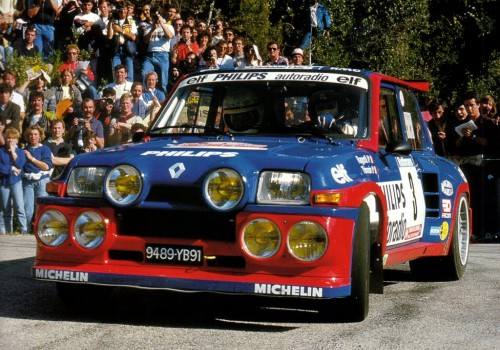 Renault R5 -  Maxi 5 Turbo