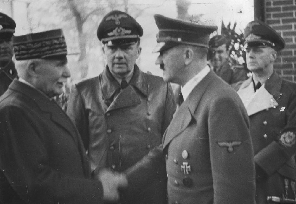 Petain - Hitler