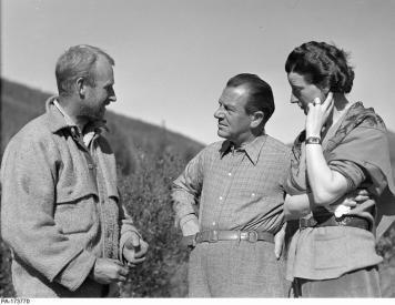 Charles Bedaux et sa femme