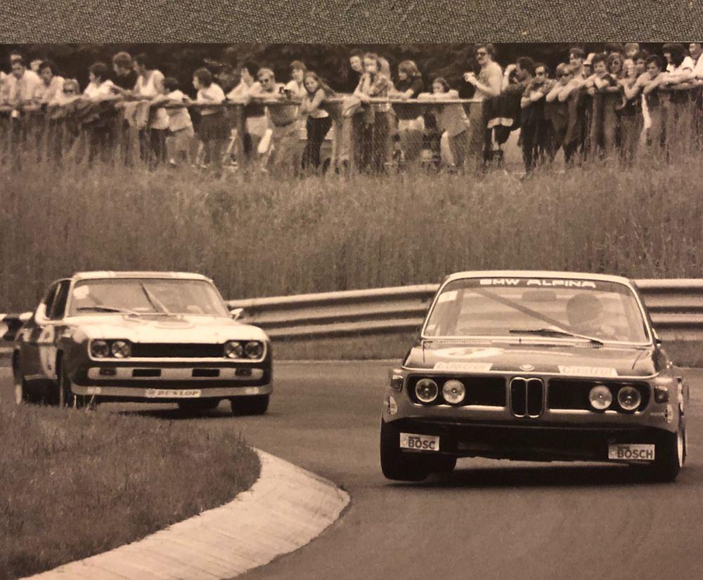 Bataille entre une BMW 2800 CS et une Ford Capri (2)