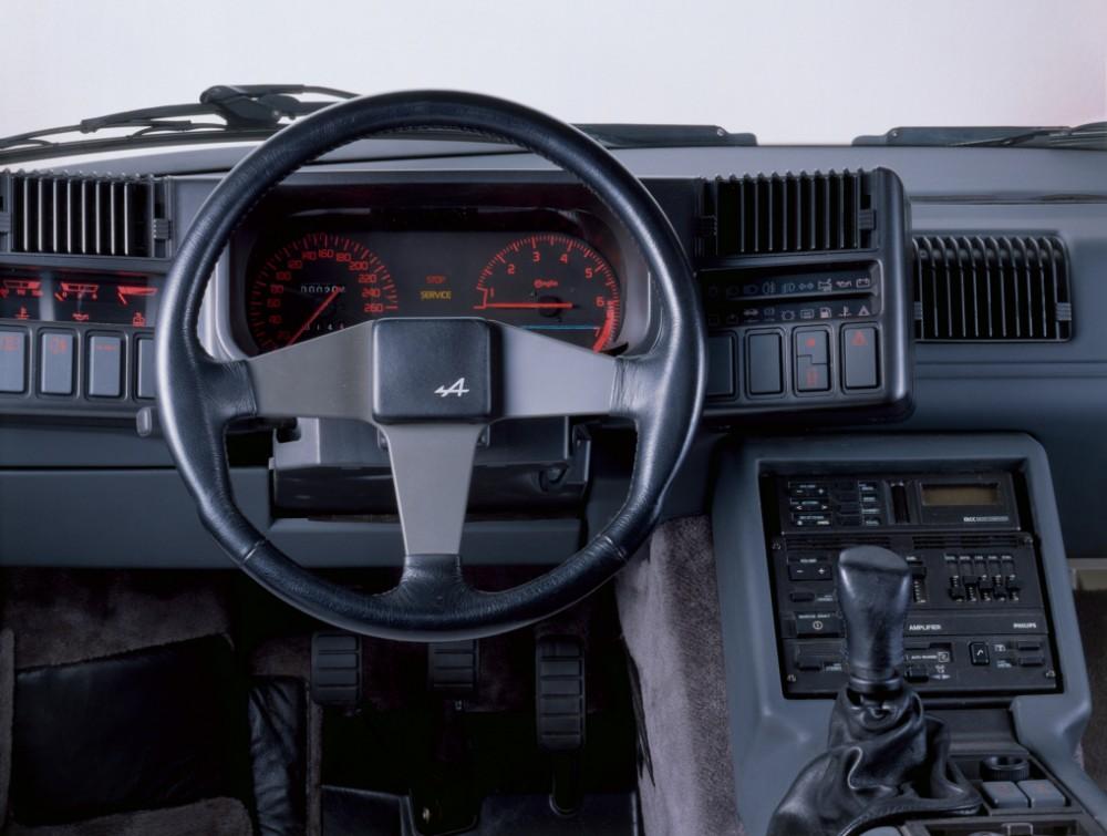 L'intérieur de l'Alpine GT