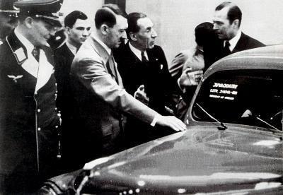 Rencontre Hitler - Renault