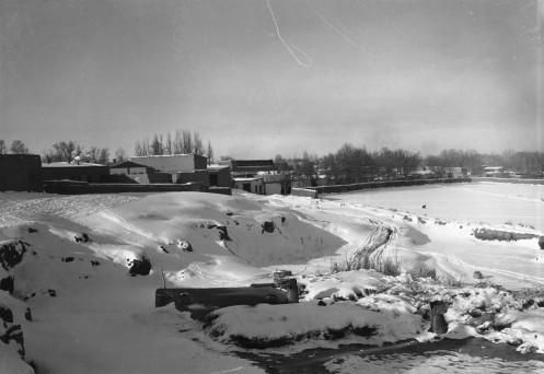 Ouroumtsi sous la neige