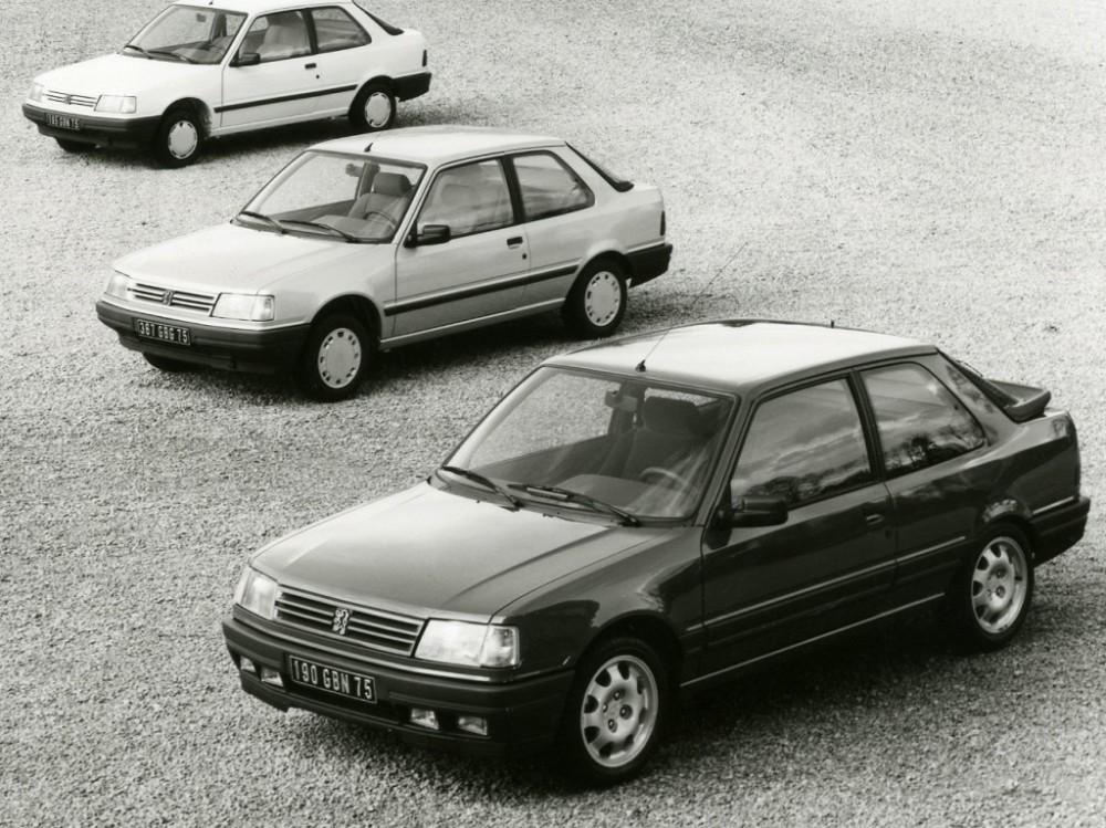 Les Peugeot 309 3 portes
