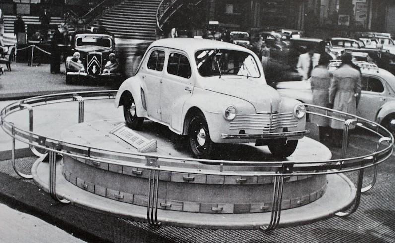 Présentation de la Renault 4CV