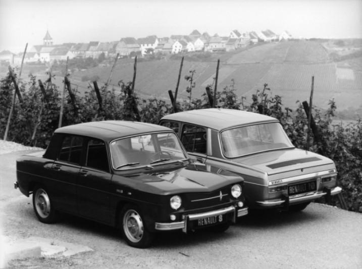 Renault 8 et Renault 10