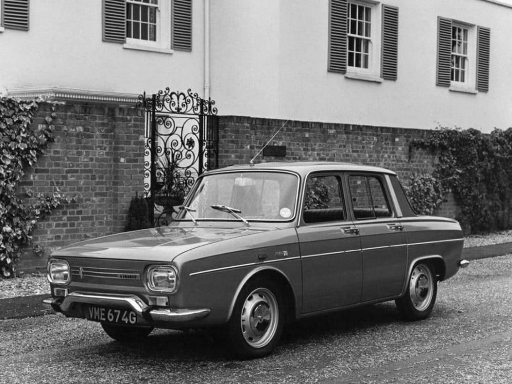 Renault 10 en 1967