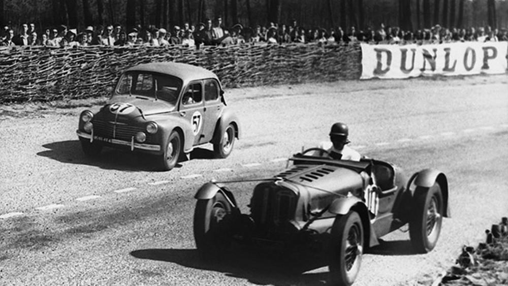La Renault 4CV aux 24h du Mans 1949