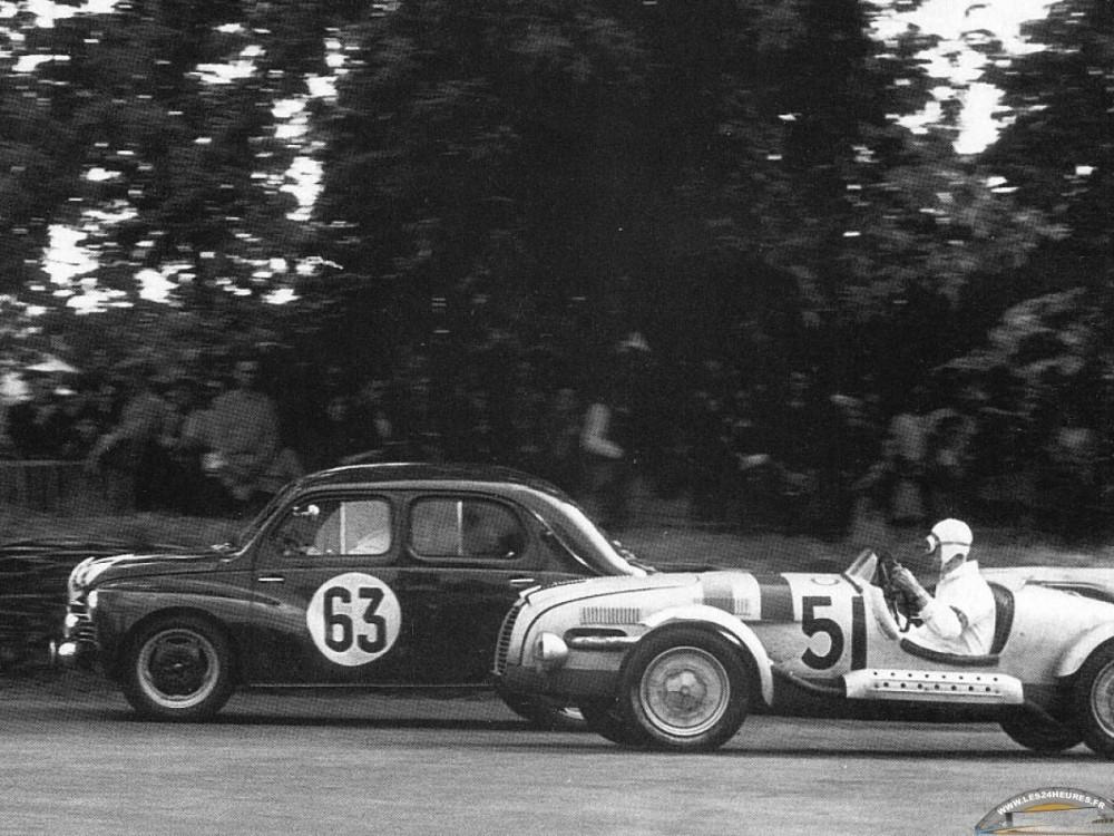 Aux 24h du Mans 1950