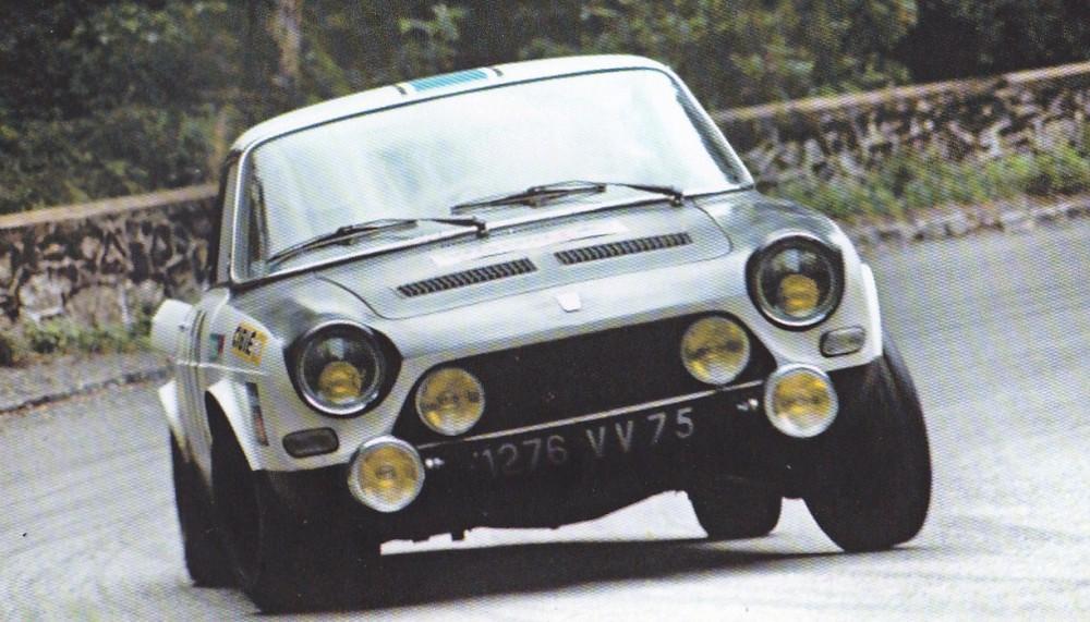 La Simca 1200 S en rallye