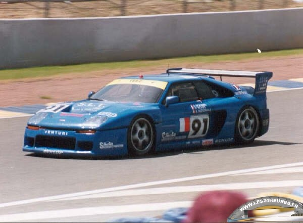 Venturi 500 LM aux 24h du Mans 1993
