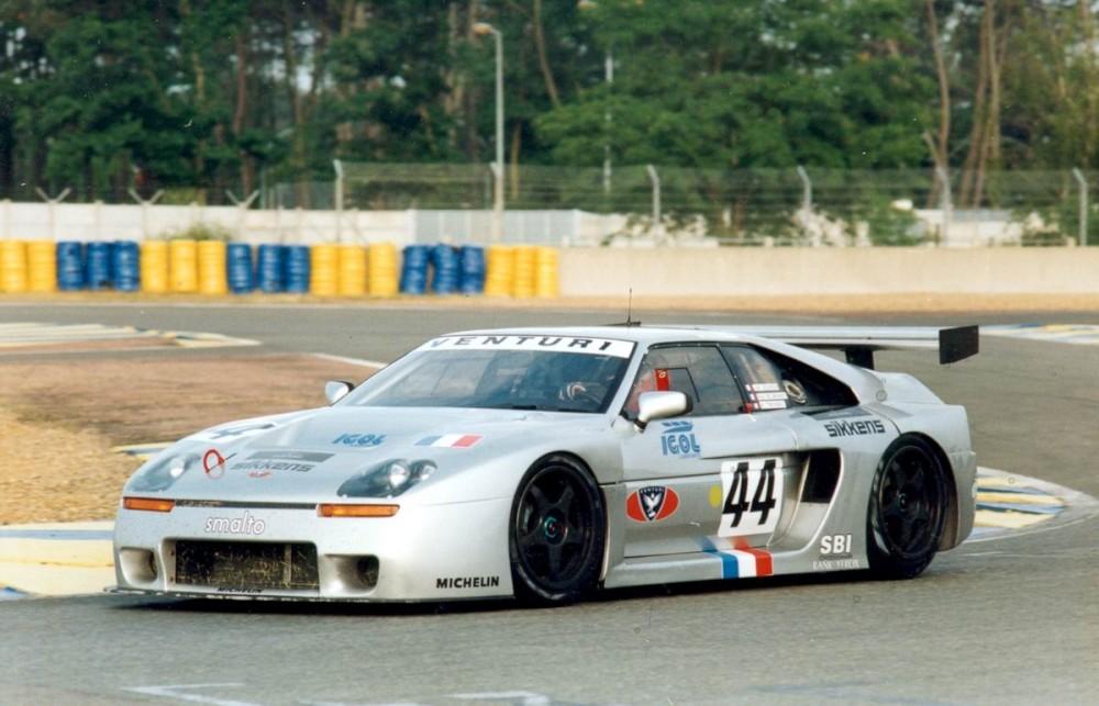 Venturi 600 SLM aux 24h du Mans 1995
