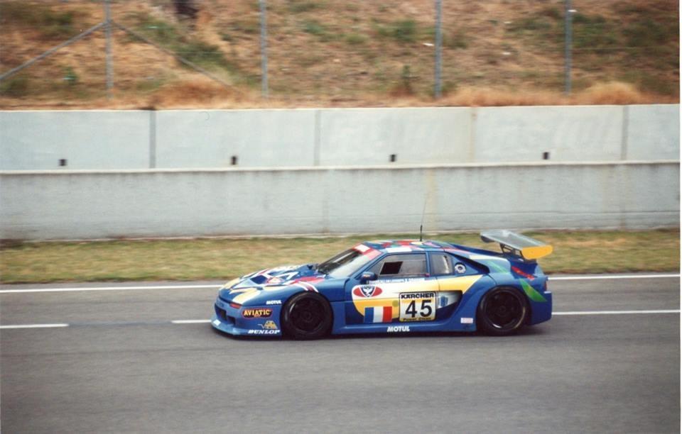 Venturi 600 LM Art Car aux 24h du Mans 1995