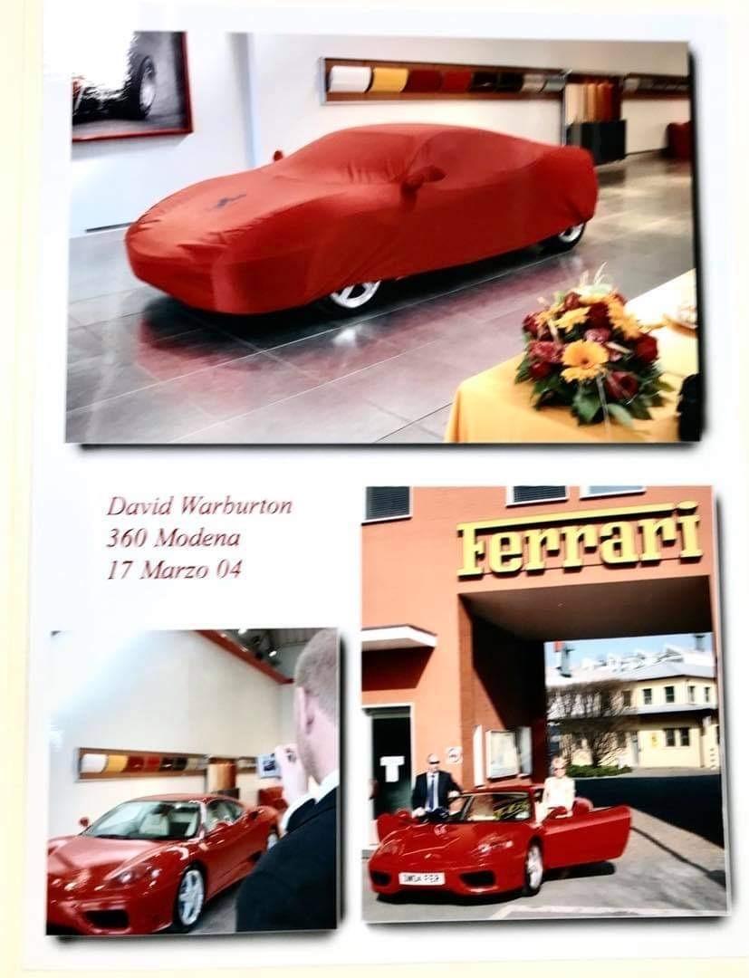 Sa première Ferrari