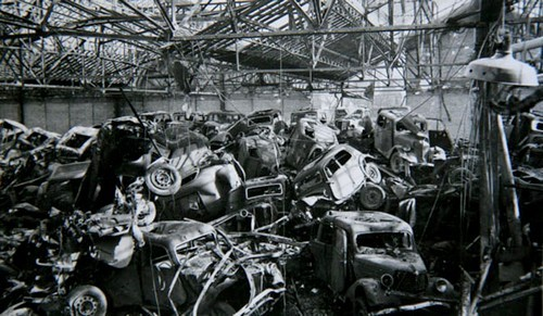 Bombardement usine Renault sur l'île Seguin