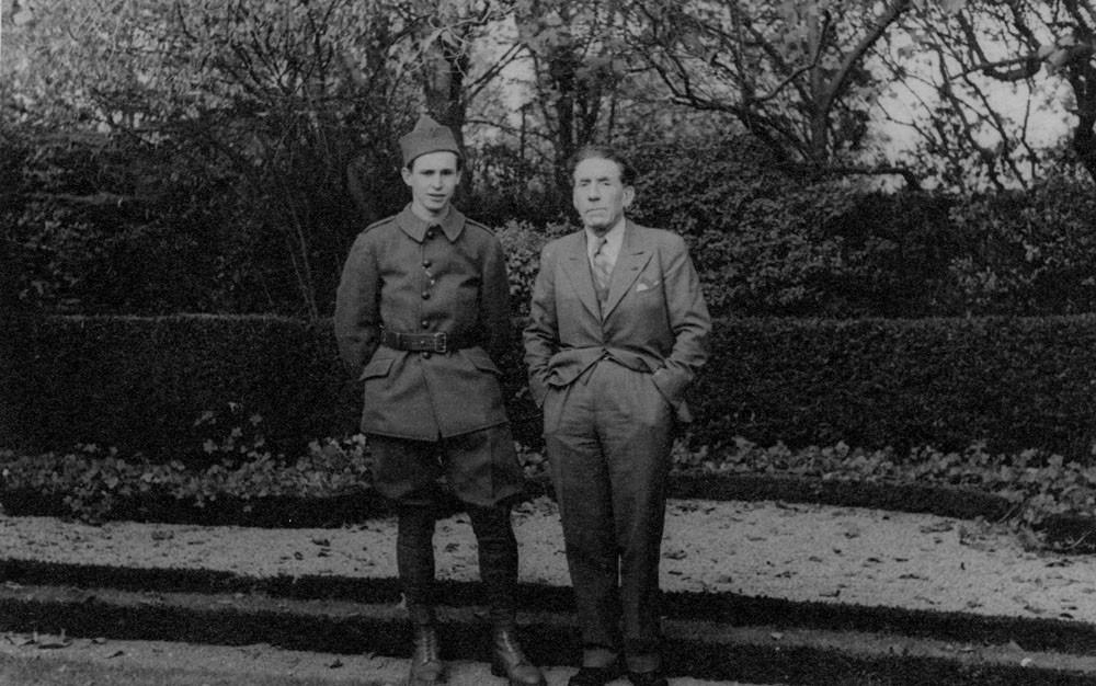Louis Renault et son fils Jean-Louis Renault