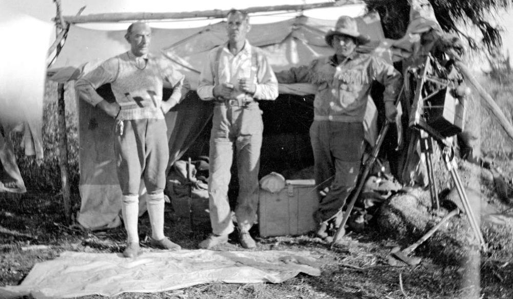 Membres de l'expédition