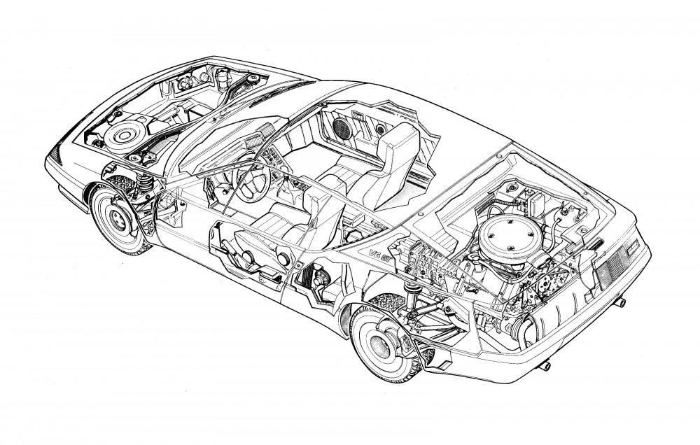 Ecorché Alpine GTA