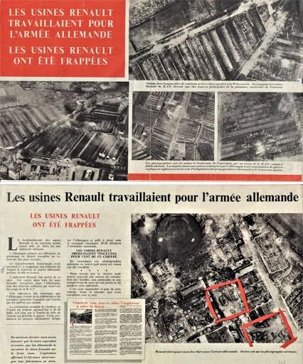 Tract anglais contre Renault